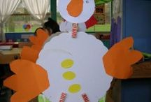 Recyled chicken craft for kids / This page has a lot of free Recyled chicken craft for kids,parents and teachers.