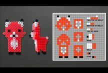 3D Animales Hama Beads