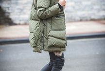 Military parka winter