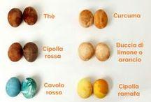 Decorare le uova Pasquali