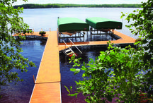 Docks and Boat LIfts / Dock and Boat Lift configurations,