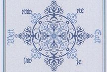 Cross stitch delft