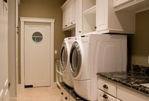 HOUSE: Laundry/ Mudroom / It's more fun to do laundry in a beautiful room.