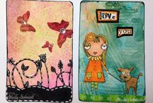 Altered Playing Cards (ATC)