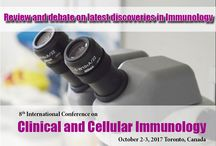Clinical and Cellular Immunology / World Immunology Summit-2017 gathers people from academia, business and societies interested in immunology to share the latest trends and important issues relevant to our field/subject area. Immunology Meetings brings together the Global leaders in Immunology and relevant fields to present their research at this exclusive scientific program.