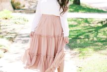 Spring Style Outfits / Ideas on how to style outfits for Spring