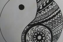 Çizim-Sanat / Art ying yang