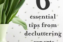 Decluttering Tips / Simple and easy decluttering tips to help you tidy up your home and make money at the same time!