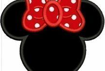 Mickey vysivka