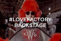 #LOVEFACTORY BACKSTAGE / Eye spy on the backstage of the Moncler Grenoble Fall-Winter 2015/16 Show in New York
