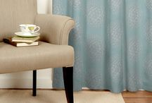 Cushions & rugs and drapes