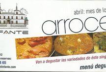 Abril...Mes del Arroz / Durante este mes de abril podrás disfrutar de diferentes platos con arroz