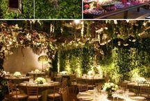 Wedding Decor - Foliage Backdrops