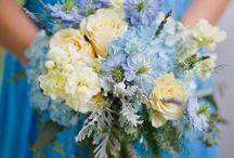 ブルーの結婚式