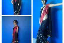 design of sandesh nair (indian saree) / Indian Saree Designed by sandesh nair  +91 9964483902