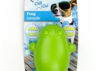 COOL Products for Pets / A board showing products we sell which can help in the hot weather