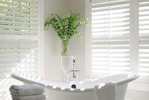 guest bathroom window treatment