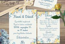 Gabi sárga esküvő