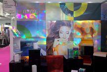 Exhibitions / Photos of exhibitions - i.e. backdrop / samples etc