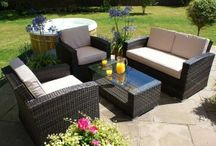 Outdoor Rattan Sofa Sets / To browse more of our range of Outdoor Rattan Sofa Sets, please visit http://www.supremerattanfurniture.co.uk/rattan-sofa-sets
