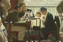 Norman Rockwell / by Timeless Design