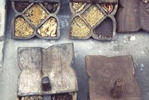 spice boxes / antique ways to store expensive spices and herbs / by Betty Pillsbury