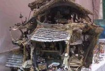 Fairy designs / Whimsical houses and fairy furniture