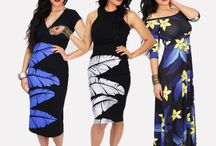 MENA Fashion RW2015 Collection; Pacific Fashion: Polynesian Fashion / Pacific print separates and shift dresses in. Statement dresses with exotic palms and lush floral designs. Polynesian Design. Resort Fashion.