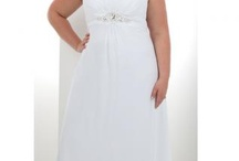 Plus size wedding dresses / by Angie Wise