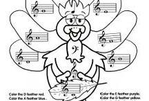 Fall piano activity packets