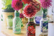 DIY ✁ AriZona bottles / Crafs, reuse and upcycling AriZona Tea bottles / by DrivingHome