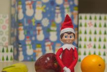 Riverton Healthy Elf / Photos of Elf on the Shelf doing healthy things - eating better, exercising, being active, and much, much more!