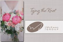 Tying the Knot / We hear weddings bells and want to  help brides-to-be get pinspired. From floral arrangements to catering, our team has you covered!