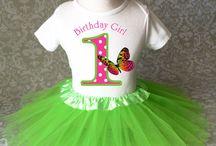 Kynzi's First Birthday