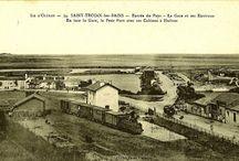Saint-Trojan-les-Bains, l'Île d'Oléron & la Charente-Inférieure. / Saint-Urjhan, Ile d'Olerun. / by Bertrand Lachèze