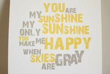 sunshine  / by Mr. Me