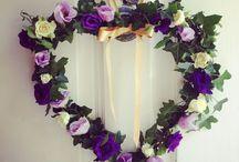 Ardington House weddings / Flowers at Ardington House, Oxfordshire.