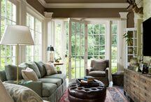 Interior: Narrow rooms