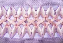 bordados  em fitas
