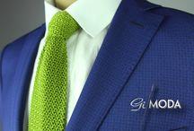 Uomo Giorno / Abbigliamento capo spalla sobrio, adatto per il giorno e per ogni occasione in cui unire eleganza e sobrietà.. il tutto con il tocco di classe Gilmoda..