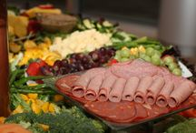Cured Meat & Crudite Displays / Cured Meat & Crudite Displays are wonderful additions to special events! Not only are they elegant, they are a very tasteful addition to your party.  www.twofatmencatering.com