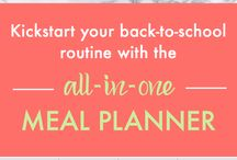 School Time Meal Planner / by Southeast Dairy