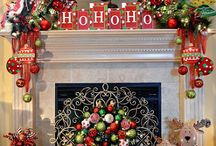 For the Home:  Fireplace decor / by D'WannaLou Whitener