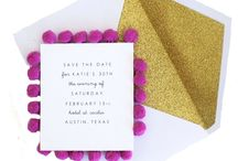 Stationary / Invites, business cards, correspondence, notepads / by Allie Reiter