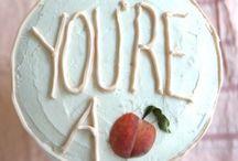 Food - Let them eat cake / by Kristi Swindlehurst