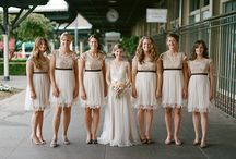 Bridesmaids / just colour ideas not dresses!