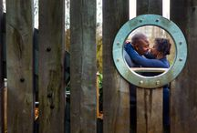 Nadine and Richard - Engagement Shoot in South London / The engagement shoot took place at the Horniman Museum, London.