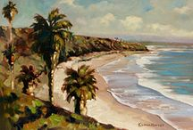 Carlsbad Art and Inspiration / Carlsbad CA's artistic and beach culture inspires great works of art.