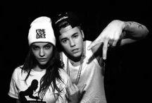 Justin Bieber + Palvin  Barbara