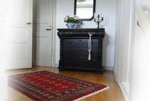 Måla gamla möbler